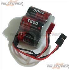 Rx Receptor Batería 6v 2600mah Nimh Radio Control Plana vapextech