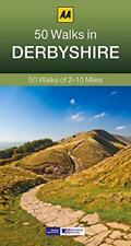 Derbyshire (AA 50 promenades série) par AA Publishing Livre de poche