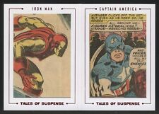 2015 Marvel Avengers Silver Age Dual Archive Cuts TS82 Tales Of Suspense /65
