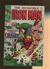 Iron Man 6 VG/FN 5.0 * 1 Book * Vengeance Cries the Crusher! Goodwin & Tuska!