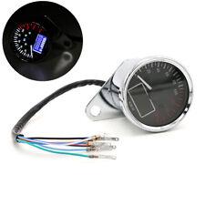 Universal Motorcycle Speedometer 0-160 KMH Digital Odometer Fuel Gauge Indicator