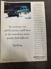 New Listing1996 Oldsmobile Bravada Ad