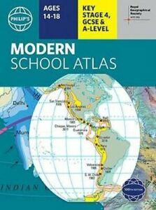 Philip's RGS Modern School Atlas: 100th edition by Philip's Maps