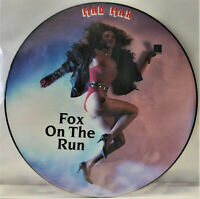 "Mad Max Fox On The Run 12"" Picture Maxi Vinyl 1986 Rock Metal Sweet Cover Rar"