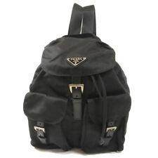 PRADA  B6677X Backpack · Daypack with logo Nylon