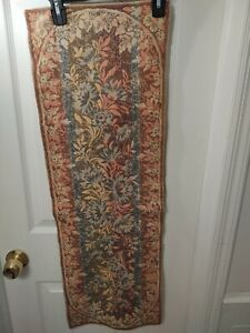 """Floral Tapestry Reversible Table Runner 36"""" x 12"""""""