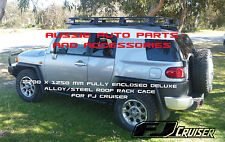 Fully Enclosed Deluxe Steel Roof Rack Cage  2200x1250mm for TOYOTA FJ Cruiser
