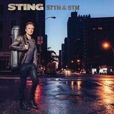 Sting 57th & 9th CD Album UK 2016