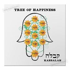 Tree of happiness life Hamsa Hand Magnet Kabbalah Lucky gift Success decor