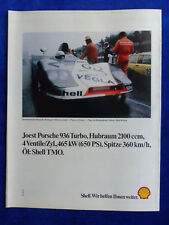 Joest Porsche 936 Turbo Shell - Werbeanzeige Reklame Advertisement 1982 __ (376