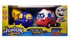Junior Racers Push N Go Friction Motor, Fire Truck & Dump Truck