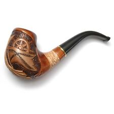 * MARINE * New HAND CARVED Tobacco Smoking Pipe / Pipes for 9 mm filter Handmade