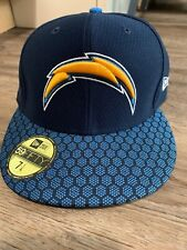 "New Era 5950 Los Angeles Chargers Onfield 2017""Sideline Fitted Hat (Navy) Cap Co"
