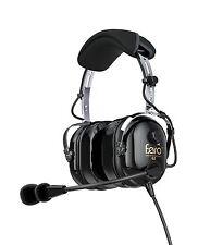 Faro G2 Passive Noise Reduction (PNR) Aviation Pilot Headset - MP3 Input - Black
