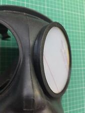 S10 FM12 Gas Mask outsert outer rings (3D Printed) and polycarbona lenses pairs