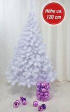 Neues AngebotKünstlicher Weihnachtsbaum weiß 120cm 300 Zweige Weihnachten Tannenbaum Advent