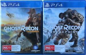 Tom Clancy's Ghost Recon Wildlands and Ghost Recon Breakpoint PS4 Game Bundle