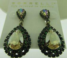 Sorrelli Wild Fern Earrings NWT ECW47AGWFN antique gold tone