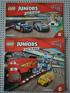 LEGO Bauanleitung / Instruction Juniors 10745  Heft 1 + 2