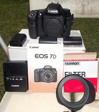 Canon EOS 7D 18.0MP Digital SLR Camera - Black (Body Only) with Extras !!!!!!