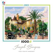 CEACO JIGSAW PUZZLE LOCKRIE MANOR JOSEPH BURGESS 1000 PCS #3384-1