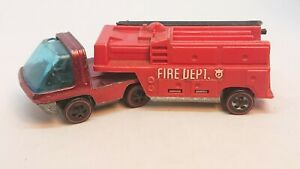 Hot Wheels Redlines Heavyweights Fire Department Truck- Vintage Original