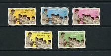 Iraq  1961  #273-7  Children's Day   5v.  MNH  F685