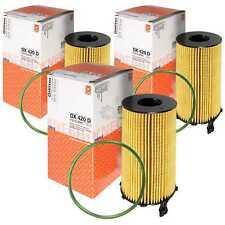 3x MAHLE / KNECHT Ölfilter OX 420D Oil Filter