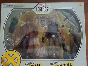 Marvel Legends Hawkeye and Logan (old men) Baby Hulk X-Men   2 Pack  RARE