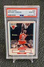 1990 Fleer MICHAEL JORDAN   PSA 10. Bulls