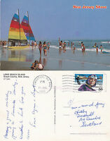 1995 LONG BEACH ISLAND OCEAN COUNTY NEW JERSEY UNITED STATES COLOUR POSTCARD