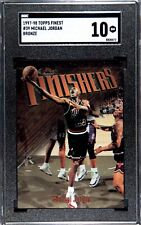 1997-98 Topps Finest, Michael Jordan(Bronze)#39 SGC 10