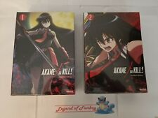 New * Akame Ga Kill! Collection 1 + 2 Limited Edition Blu-ray + DVD Premium Box