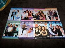 Will And Grace Complete Dvd Box Sets 1-8
