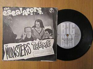 ESCALATORS THE MUNSTERS THEME big beat ns87 rare mis-press