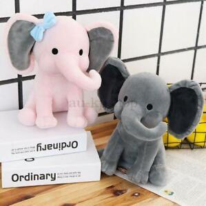 AU 25cm Cute Plush Elephant Baby Flappy Soft animals Kids Doll Toy girls Gifts