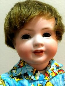 """Antique German CHARACTER TODDLER  Bahr & Proschild 585, on jointed body 10"""""""