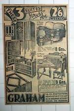 1939 Graham Westgate Road Newcastle Church Street Crook Furniture Shop Ad