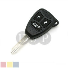 Remote Key Case Shell fit for Chrysler Jeep Cherokee 3 Button with Rubber button