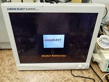 "STRYKER 21"" Vision Elect Display Monitor Endoscopy 240-030-930 pictured working"