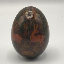 Vintage Hand Painted Decorative Egg