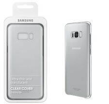Genuine Official Samsung Clear Cover for Galaxy S8 Plus - Silver  S8+