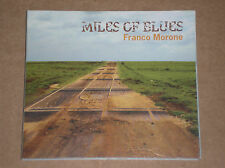 FRANCO MORONE - MILES OF BLUES - CD COME NUOVO (MINT)