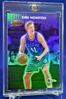 DIRK NOWITZKI BOWMAN'S BEST RAINBOW REFRACTOR RARE SP DALLAS MAVERICKS HOF!