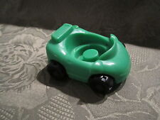 Fisher Price Little People Garage house city vehicle replacement Green car