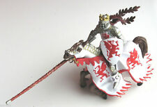 RED DRAGON KING KNIGHT & LANCE WITH HORSE BY PAPO. BRAND NEW WITH TAGS!