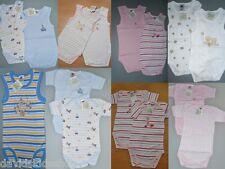 2 Stück Baby Body Kurzarm oder ärmellos  100% BW 50/56 62/68 74/80 86/92 98/104