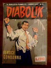 Diabolik Anno XXV n. 8 ed. Astorina