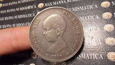 SPAGNA SPAIN ESPAÑA 5 PESETAS  1889  SILVER ARGENTO