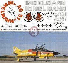 "Peddinghaus 1/48 German RF-4E Phantom II ""The Last Call"" Markings AG 51 1242"